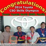 2014 Toyota CSO Skills Olympics - Winners