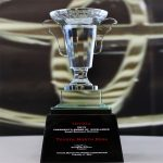 2013 President's Award of Excellence Small Business Division Trophy